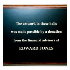 Healing Images Edward Jones Plaque